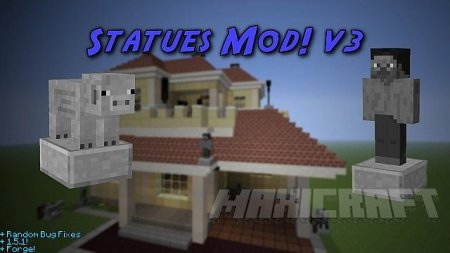 [1.5.1] [FORGE] Statues [V3.5]